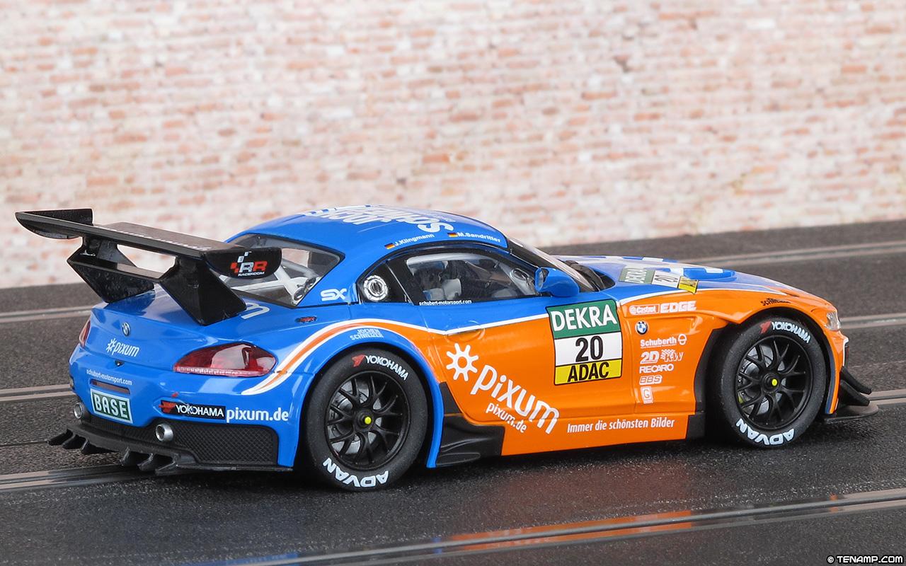 Carrera 20027512 Bmw Z4 Gt3 20 Pixum Team Schubert 2014