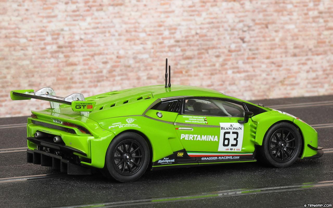 Carrera 20027530 Lamborghini Hurac 225 N Gt3 63 Grasser Racing 2015