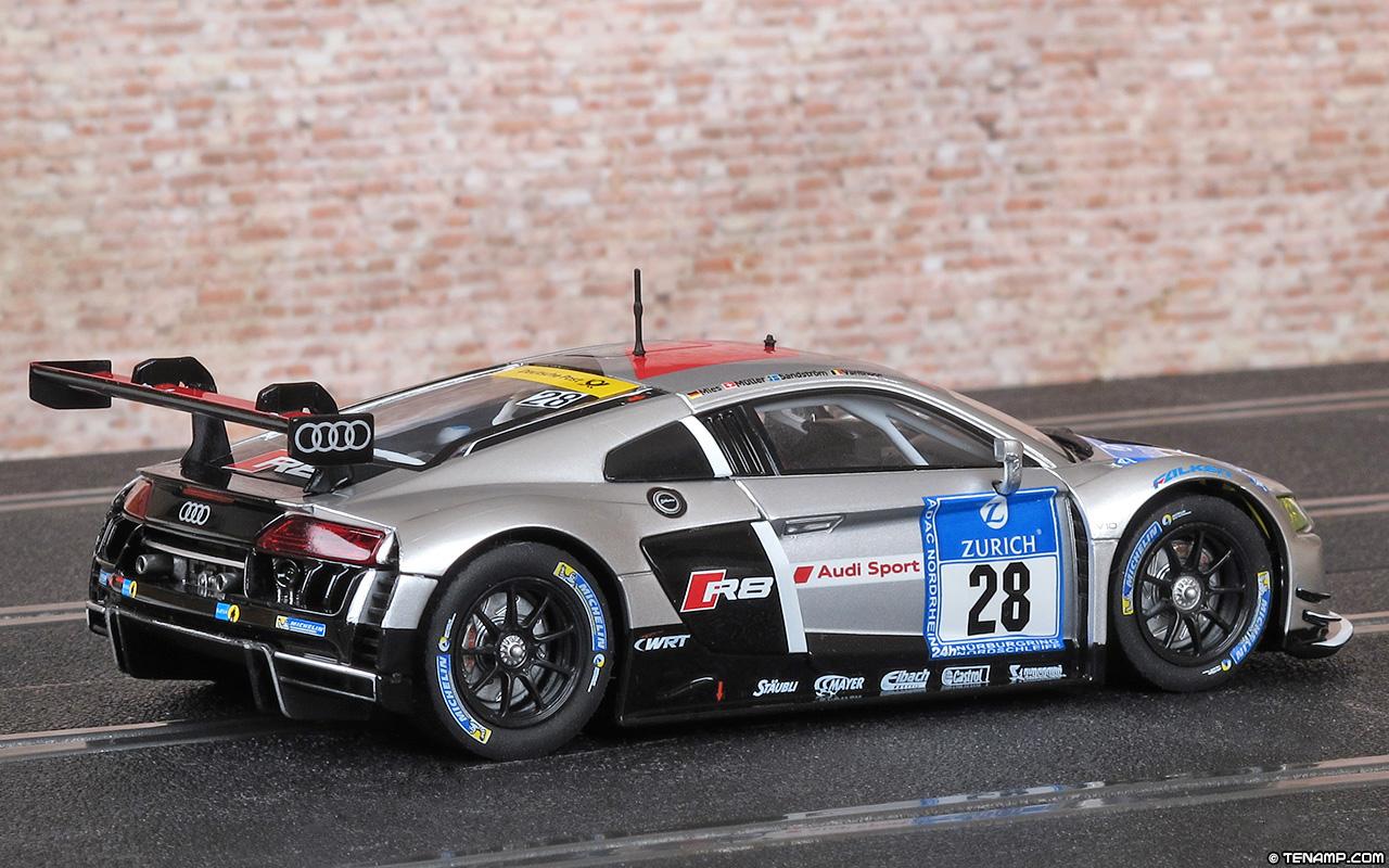 Carrera 20027532 Audi R8 LMS - #28 Audi Sport Team WRT 2015