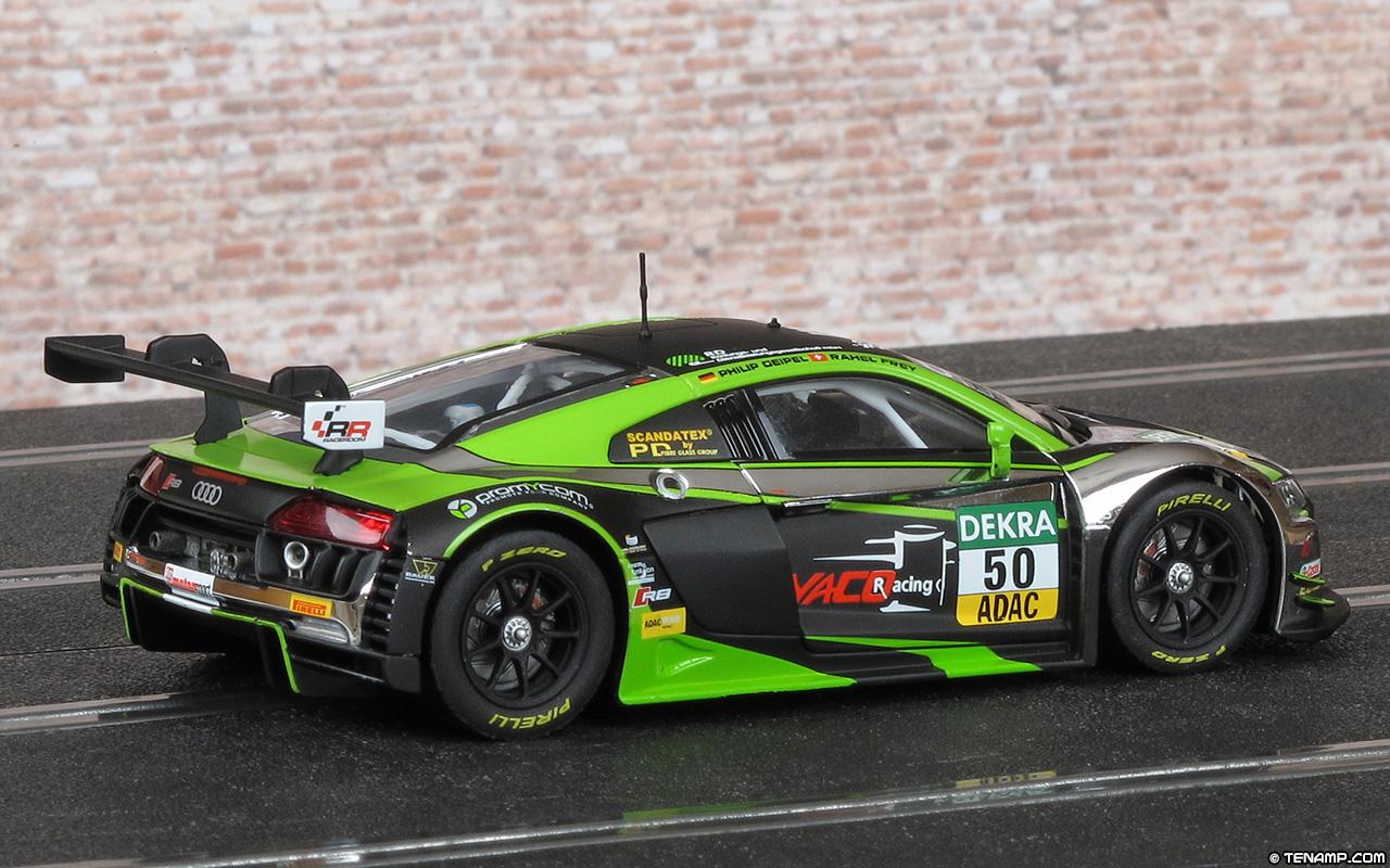 Carrera 20027546 Audi R8 LMS - #50 Yaco Racing. ADAC GT Masters 2016