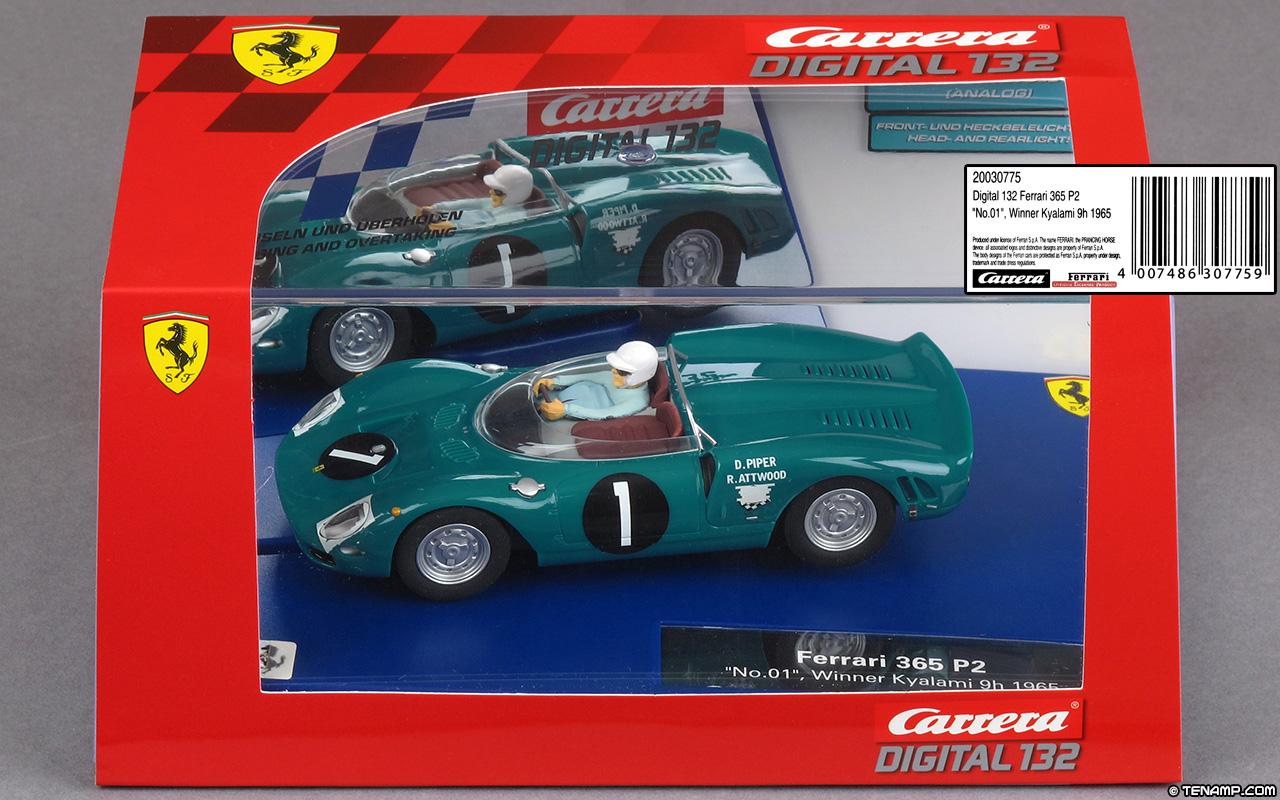 Carrera Digital 1//32  30775   Ferrari 365 P2 No.01 Winner Kyalami  ENVIO GRATIS!