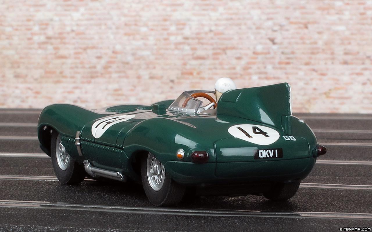 carrera 25461 jaguar d type 14 le mans 24hrs 1954. Black Bedroom Furniture Sets. Home Design Ideas
