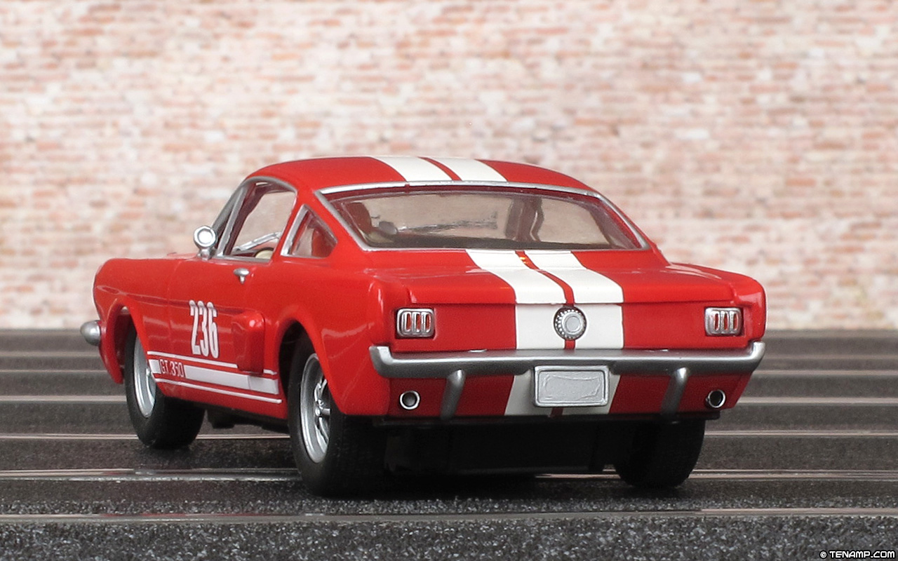Carrera 25713 Ford Mustang Gt 350 No 236 Red White