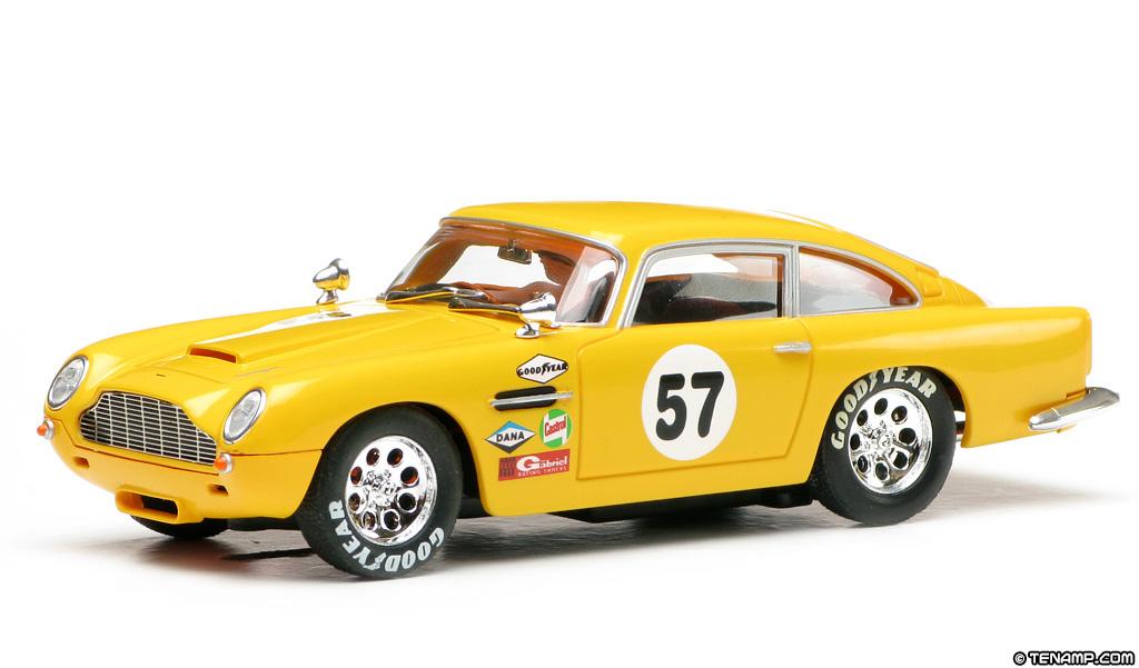 Carrera 25736 Aston Martin Db5 57 Yellow Historic Racer