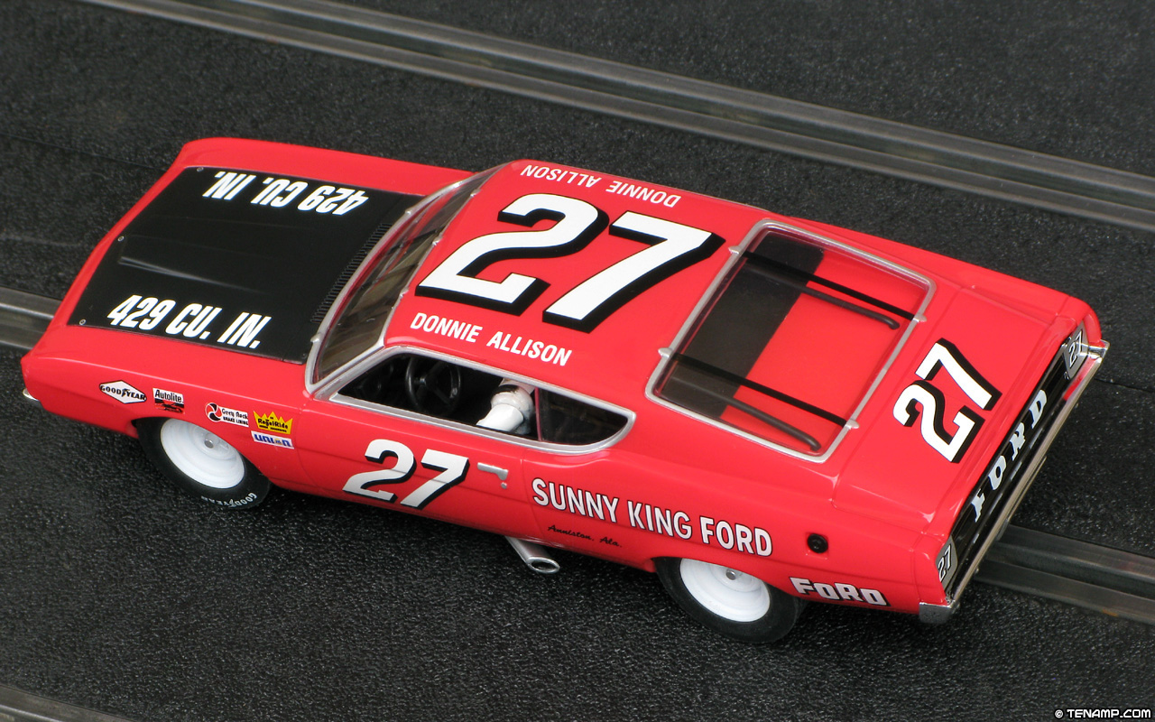 Sunny King Ford >> Carrera 25769 Ford Torino Talladega - #27 Donnie Allison 1970