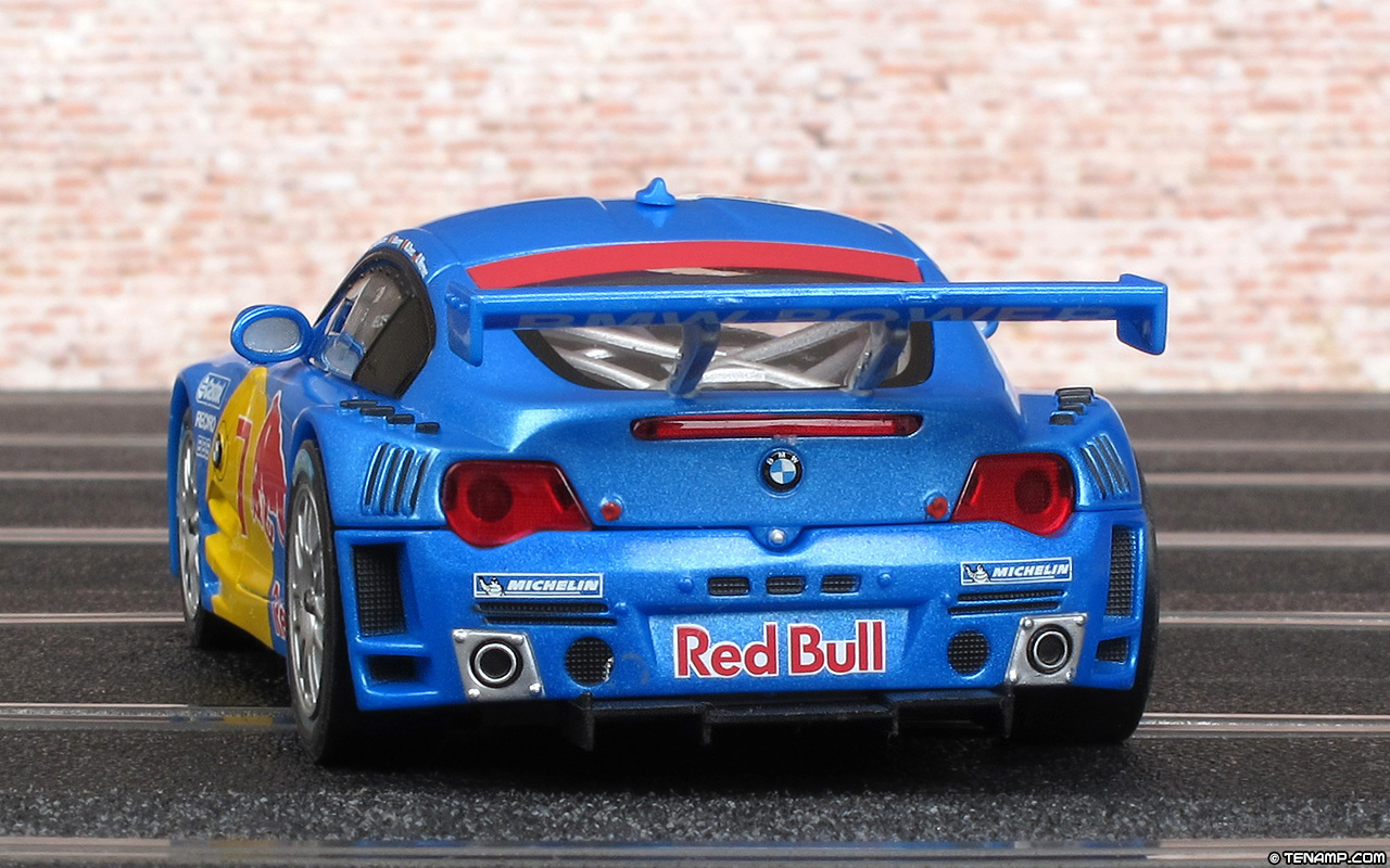 Carrera 27208 Bmw Z4 M Coup 233 Red Bull Duller