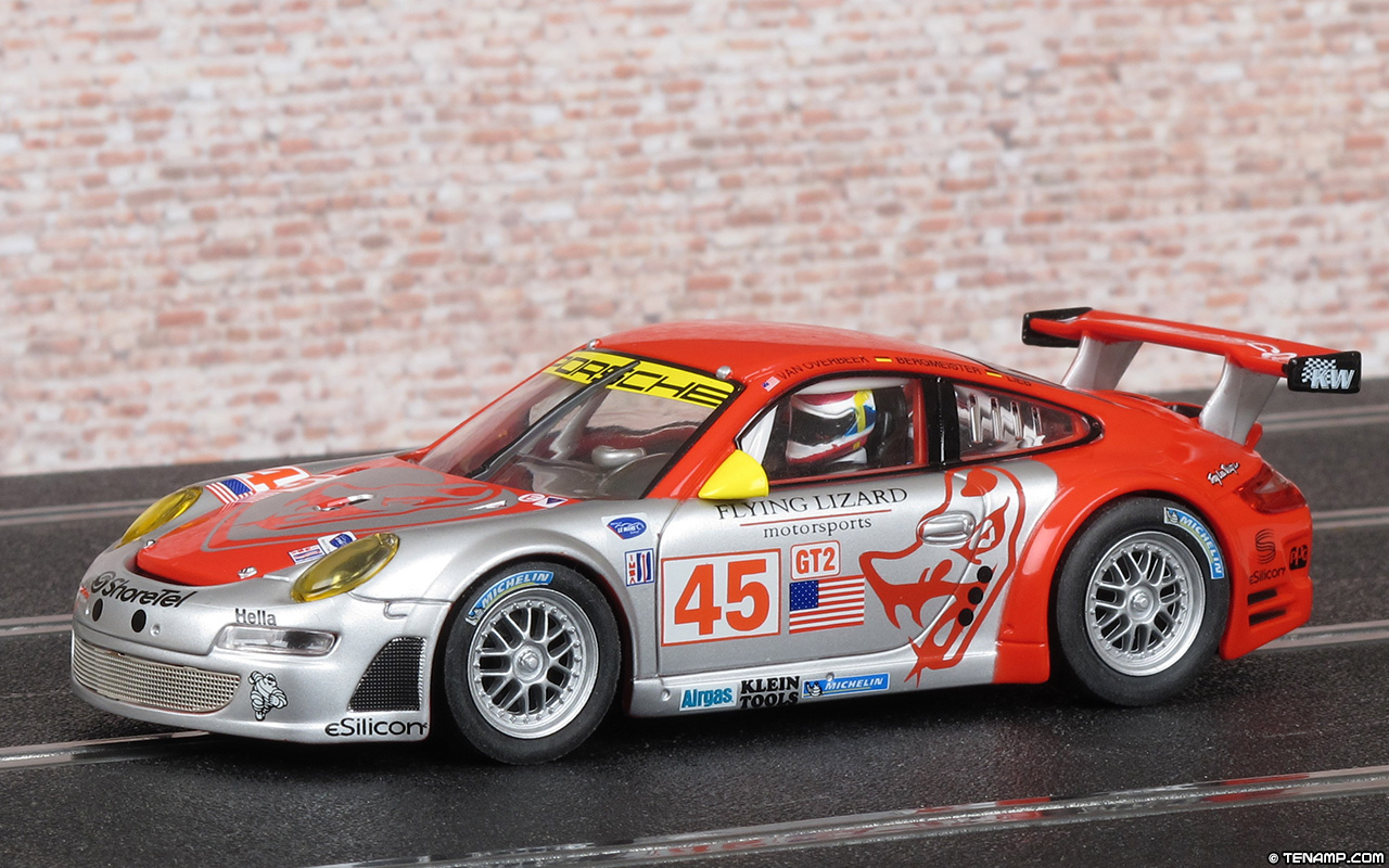 carrera 27210 porsche gt3 rsr 45 flying lizard sebring 2007. Black Bedroom Furniture Sets. Home Design Ideas
