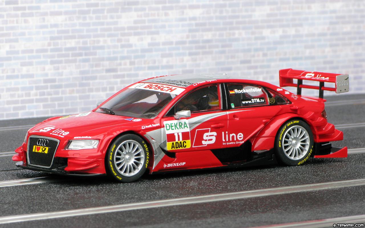 Carrera 27292 Audi A4 DTM - #11 S-Line. Mike Rockenfeller 2009