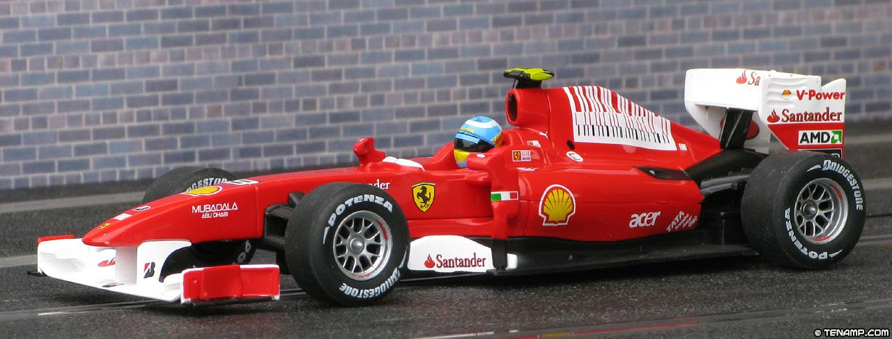 Carrera 27323 Ferrari F10 8 Fernando Alonso 2010