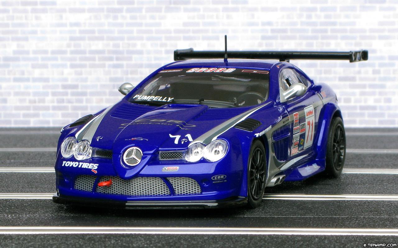 Carrera 27363 Mercedes Benz Slr Mclaren 722 Gt Number 71