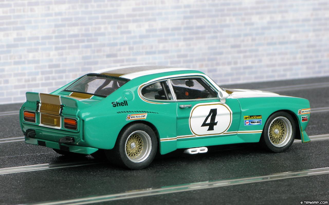 Carrera 27369 Ford Capri Rs3100 4 Green White Gold 1975