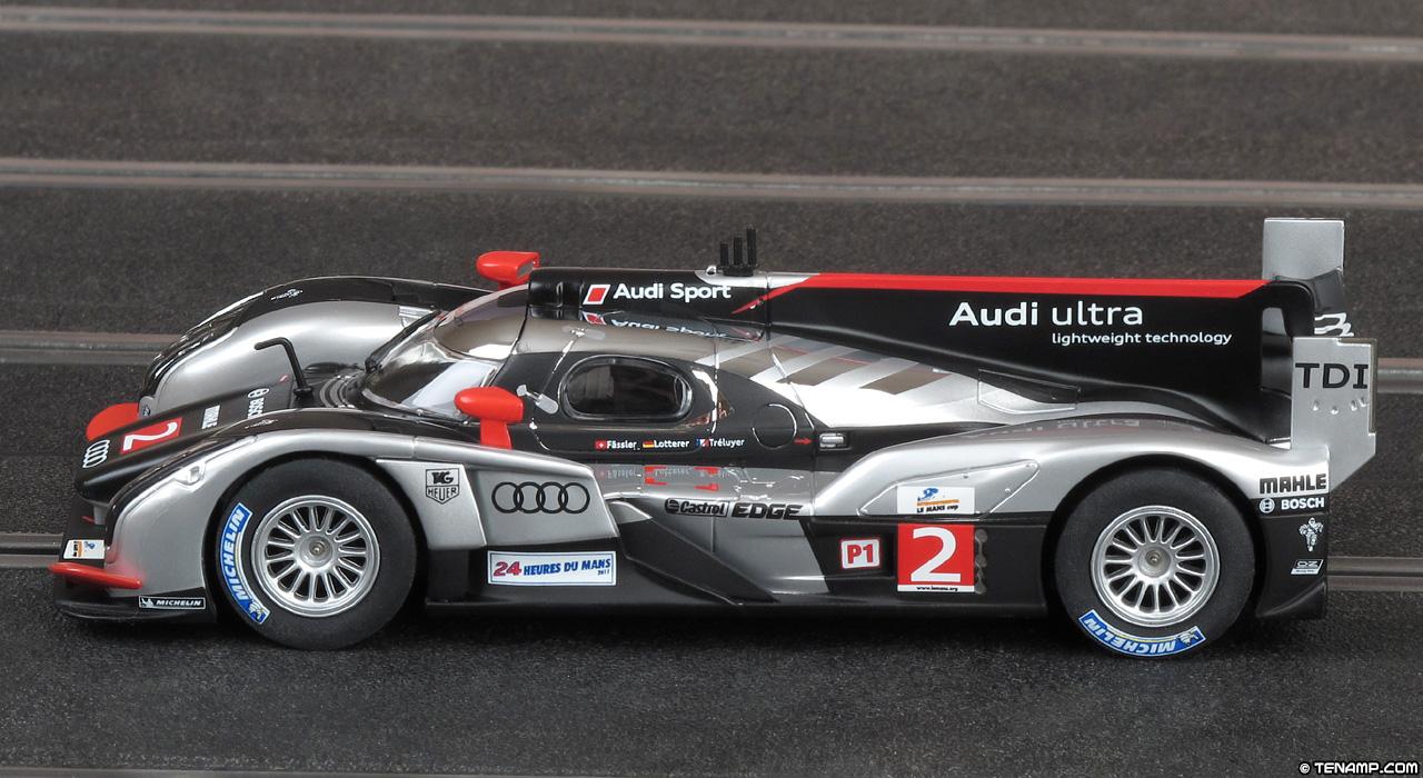 Carrera 27409 Audi R18 Tdi 2 Winner Le Mans 24hrs 2011