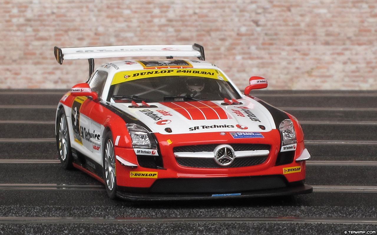 Mercedes Sls Amg Black >> Carrera 27427 Mercedes-Benz SLS AMG GT3 - SR Technics. Dubai 2012