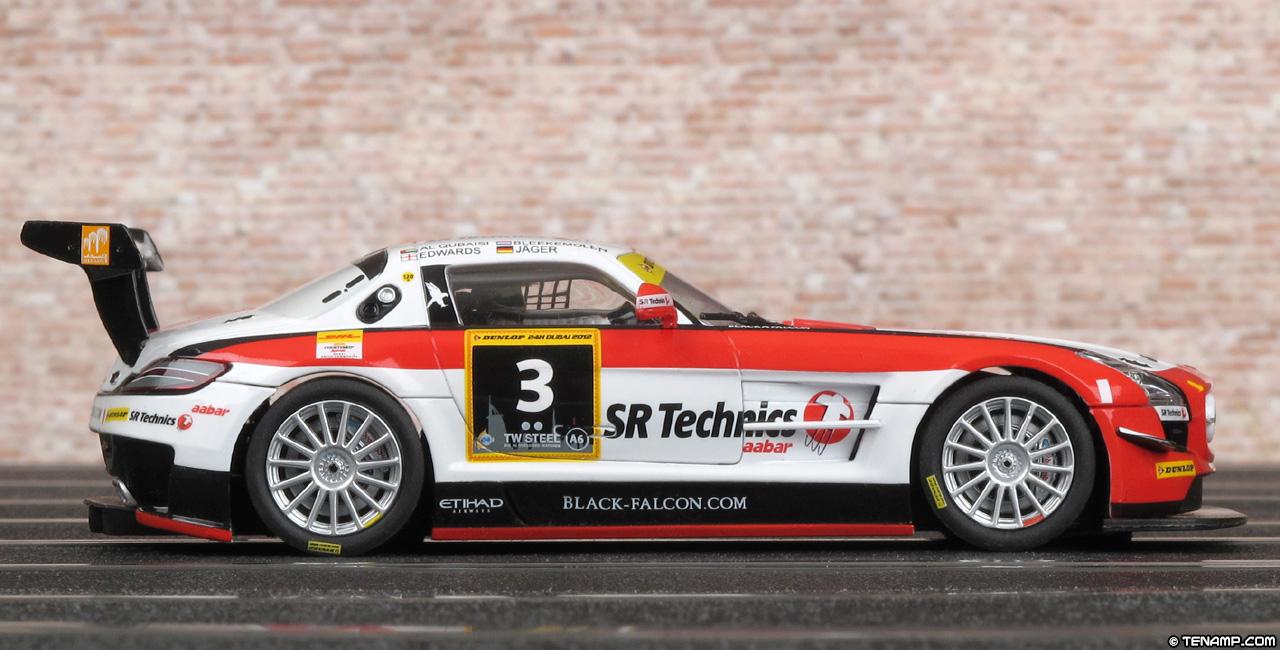 Carrera 27427 Mercedes Benz Sls Amg Gt3 Sr Technics