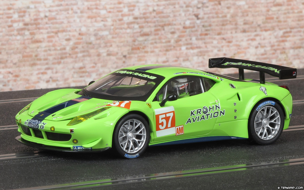 Carrera 27455 Ferrari 458 Italia Gt2 Krohn Racing 2012