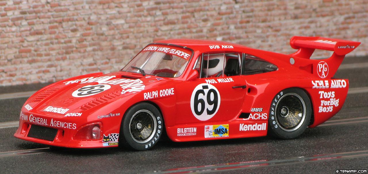 Paul Miller Porsche >> Fly 88352 Porsche 935 K3 - #69 Hawaiian Tropic. Le Mans 1980.