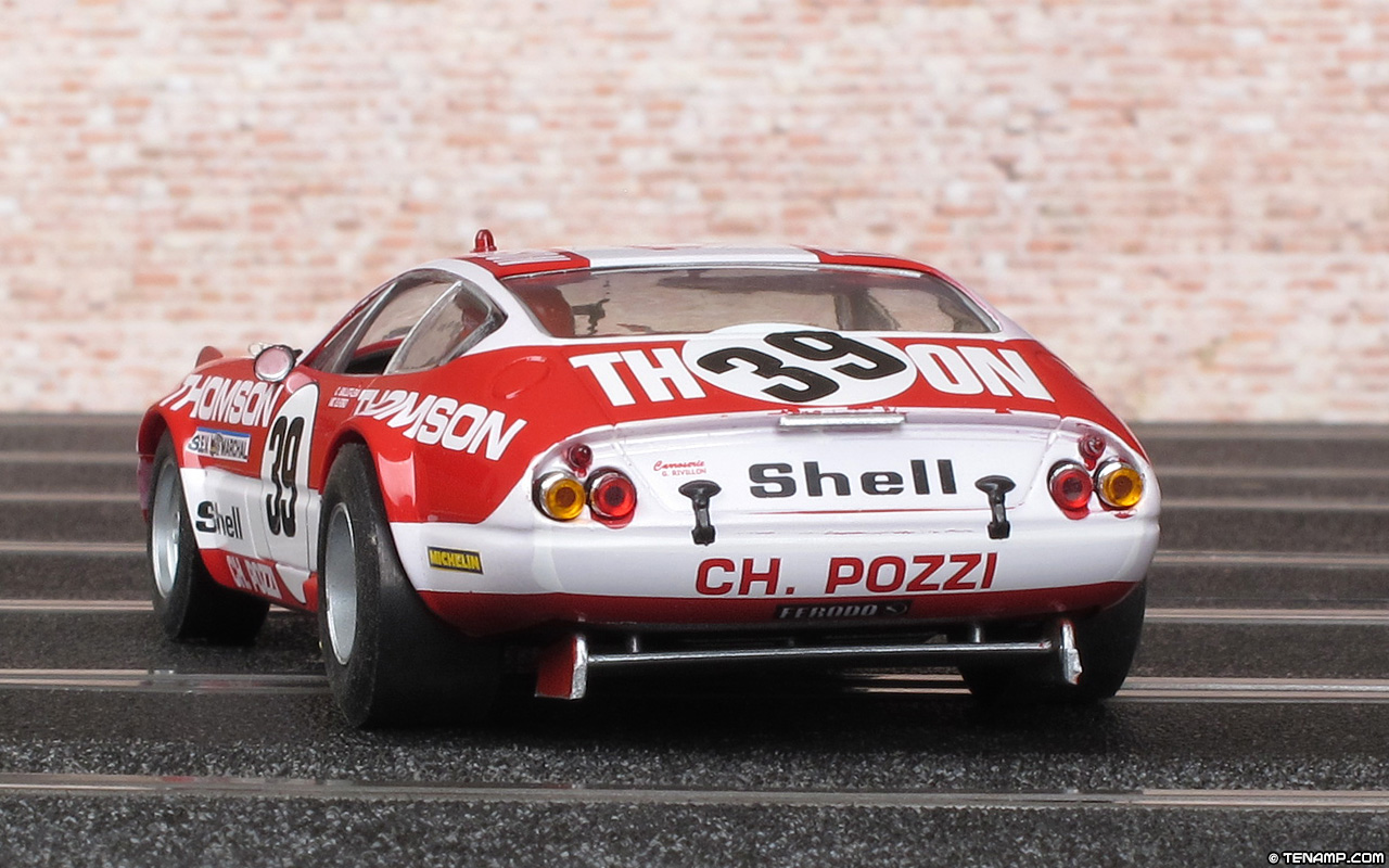 Fly 96047 Team 09 39 Ferrari 365 Gtb 4 Daytona 39 Le