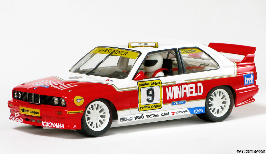 Bmw M3 E30 >> Fly 99125 BMW M3 E30 - #9 Winfield. Johnny Cecotto 1991
