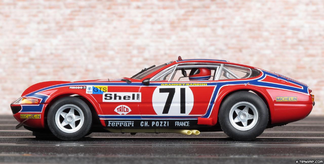 "What Is A Ferrari >> Fly A651-88077 Ferrari 365 GTB/4 ""Daytona"" - #71. Le Mans 24hrs 1974"