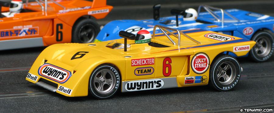 And Winner Is >> Fly GB-Track GB15 Chevron B19 - #6 Wynn's. Scheckter/Swart 1971
