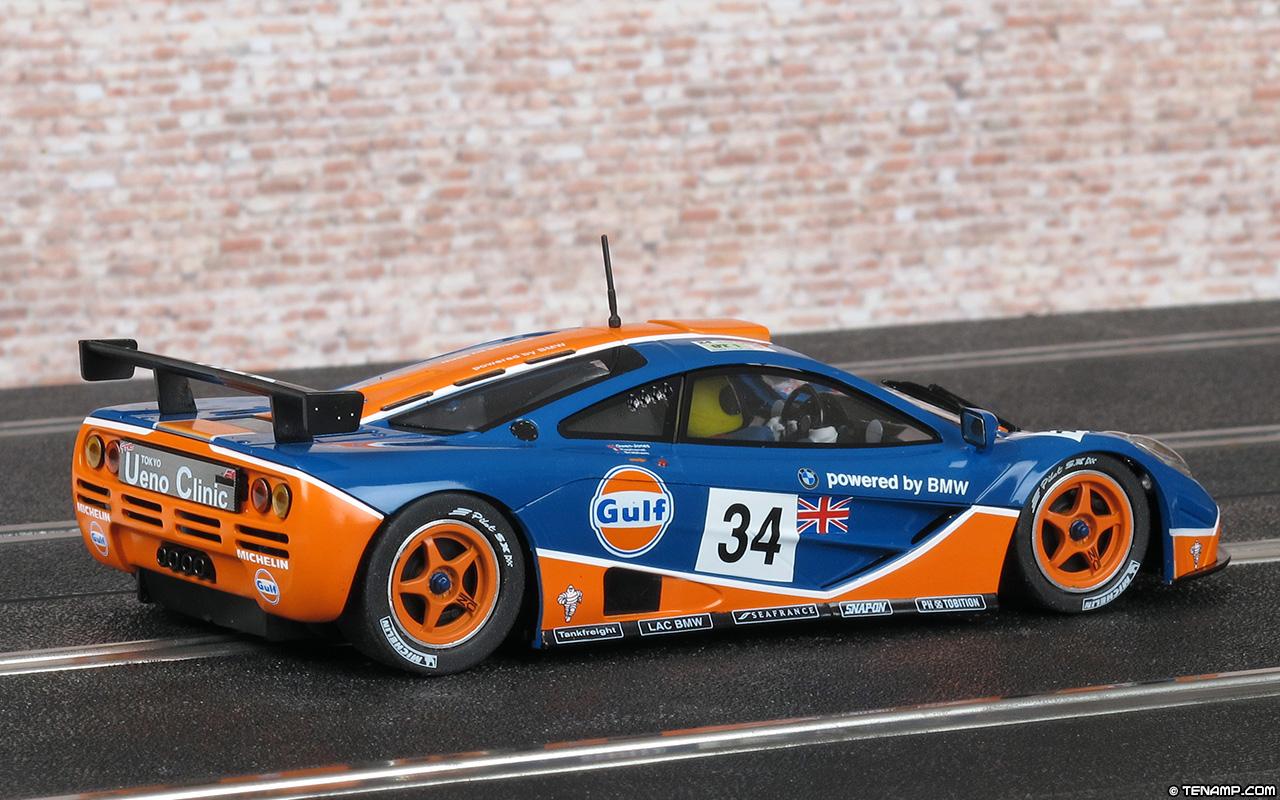 Mrslotcar Ca Mr1044 Mclaren F1 Gtr 34 Gulf Le Mans 24hrs 1996