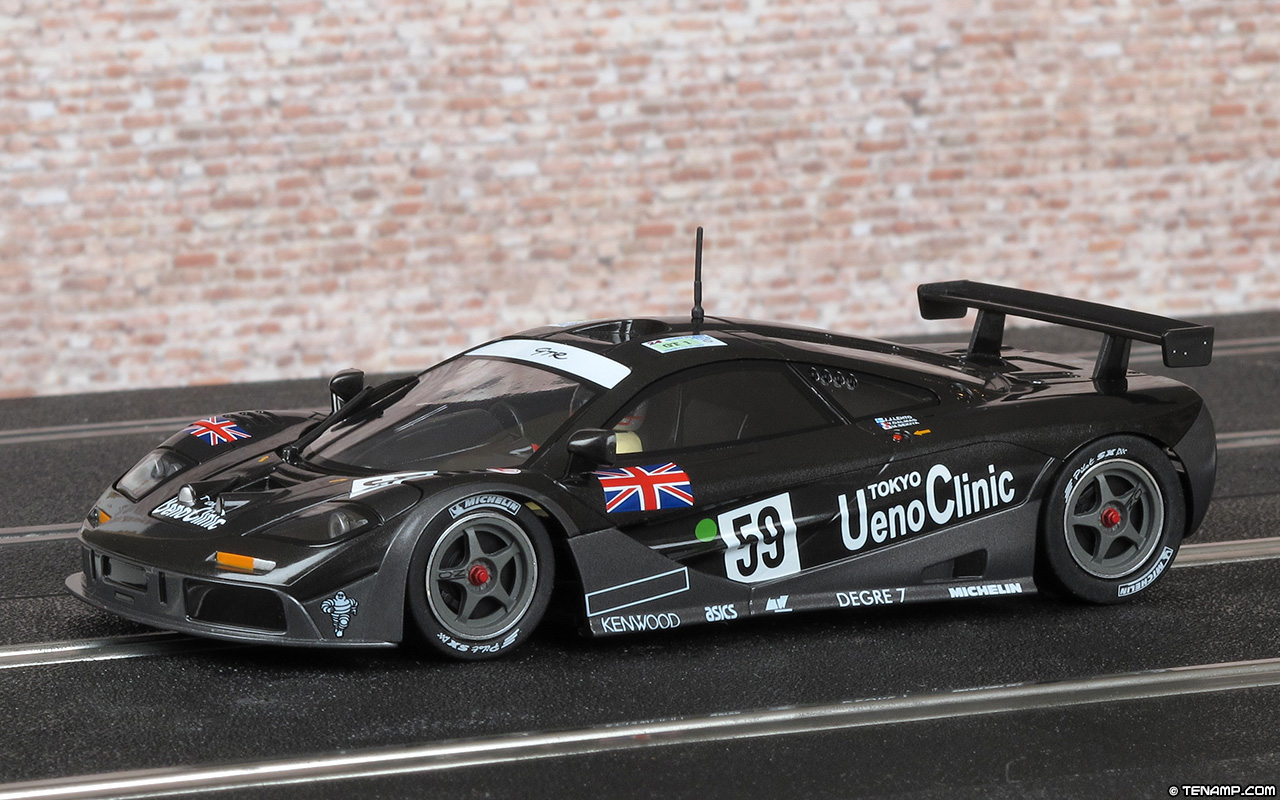 And Winner Is >> MRSLOTCAR.CA MR1046 McLaren F1 GTR - #59 Ueno Clinic. Le Mans 24hrs 1995