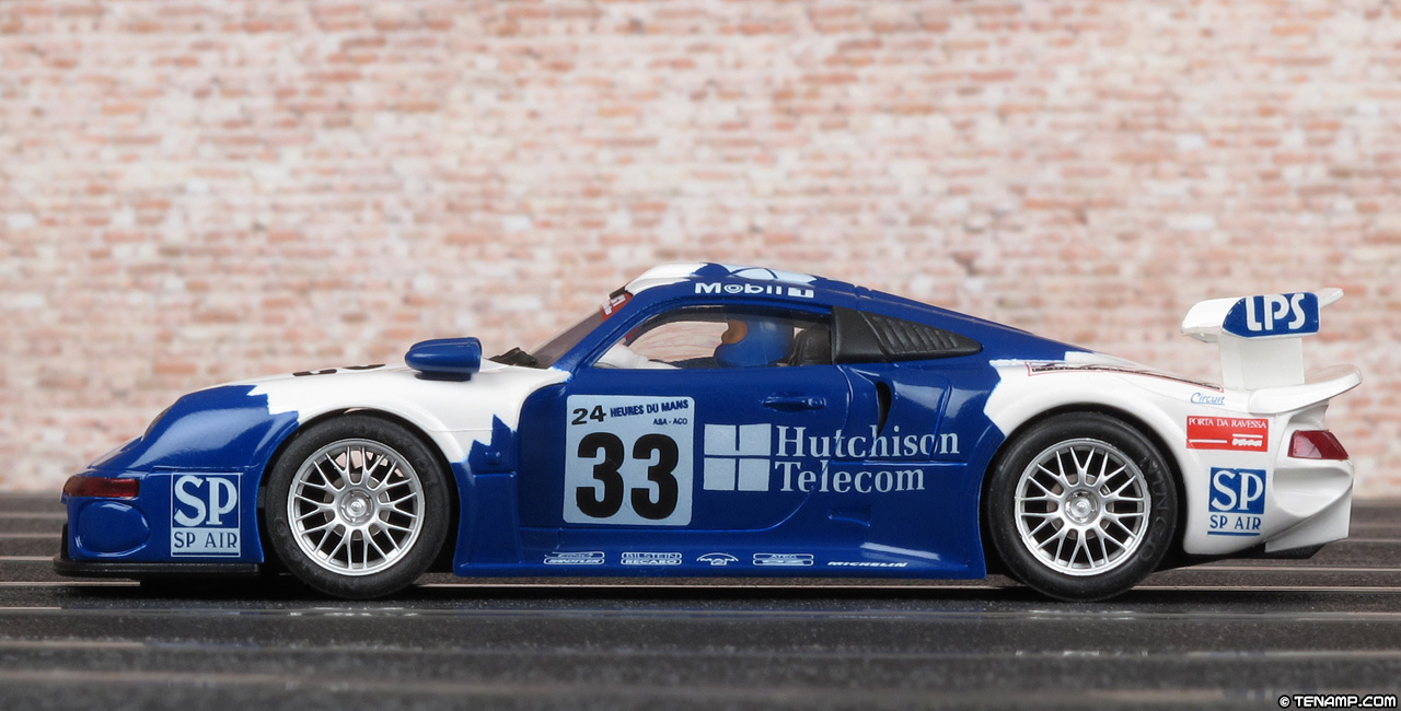 ninco 50181 porsche 911 gt1 hutchinson tfn le mans 24hrs 1997. Black Bedroom Furniture Sets. Home Design Ideas