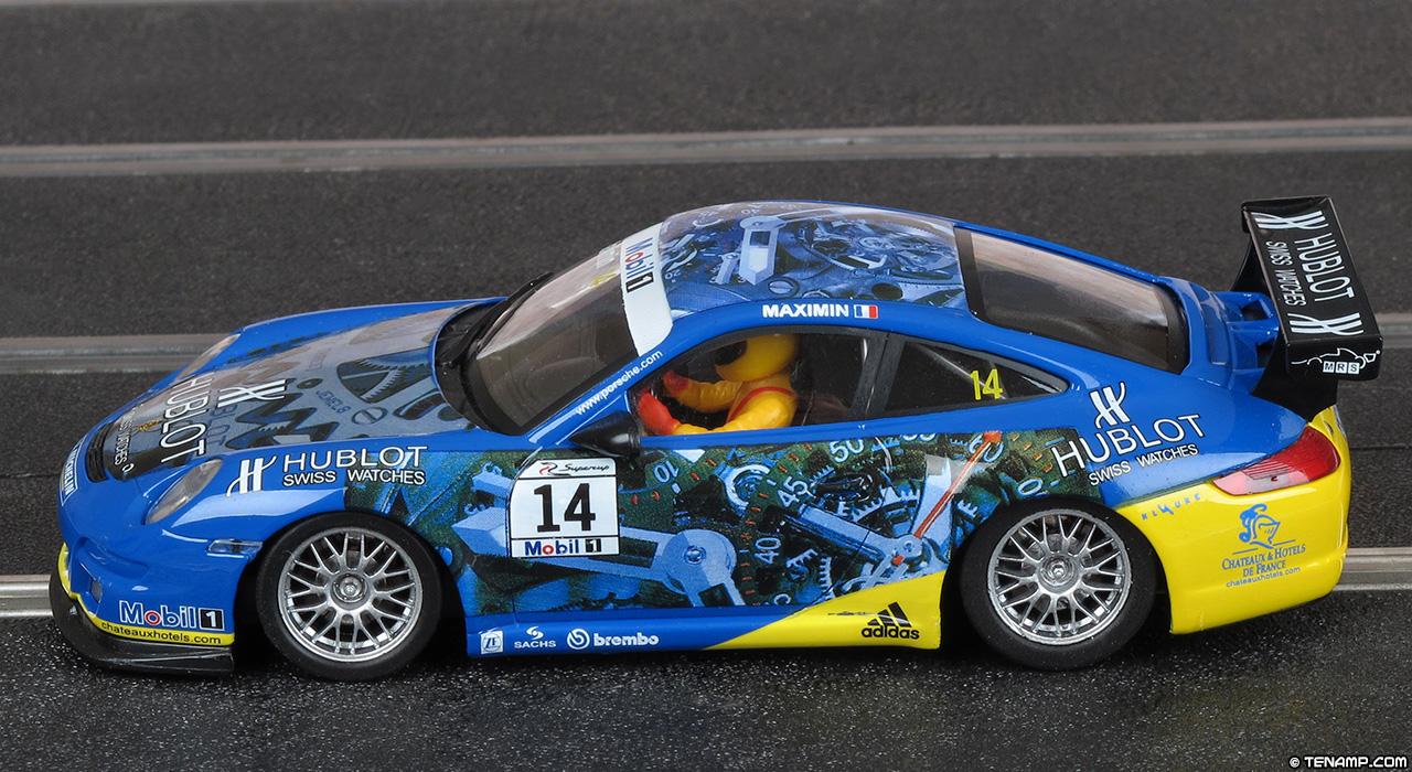 Ninco 50486 Porsche 997 Gt3 14 Hublot Mrs Team