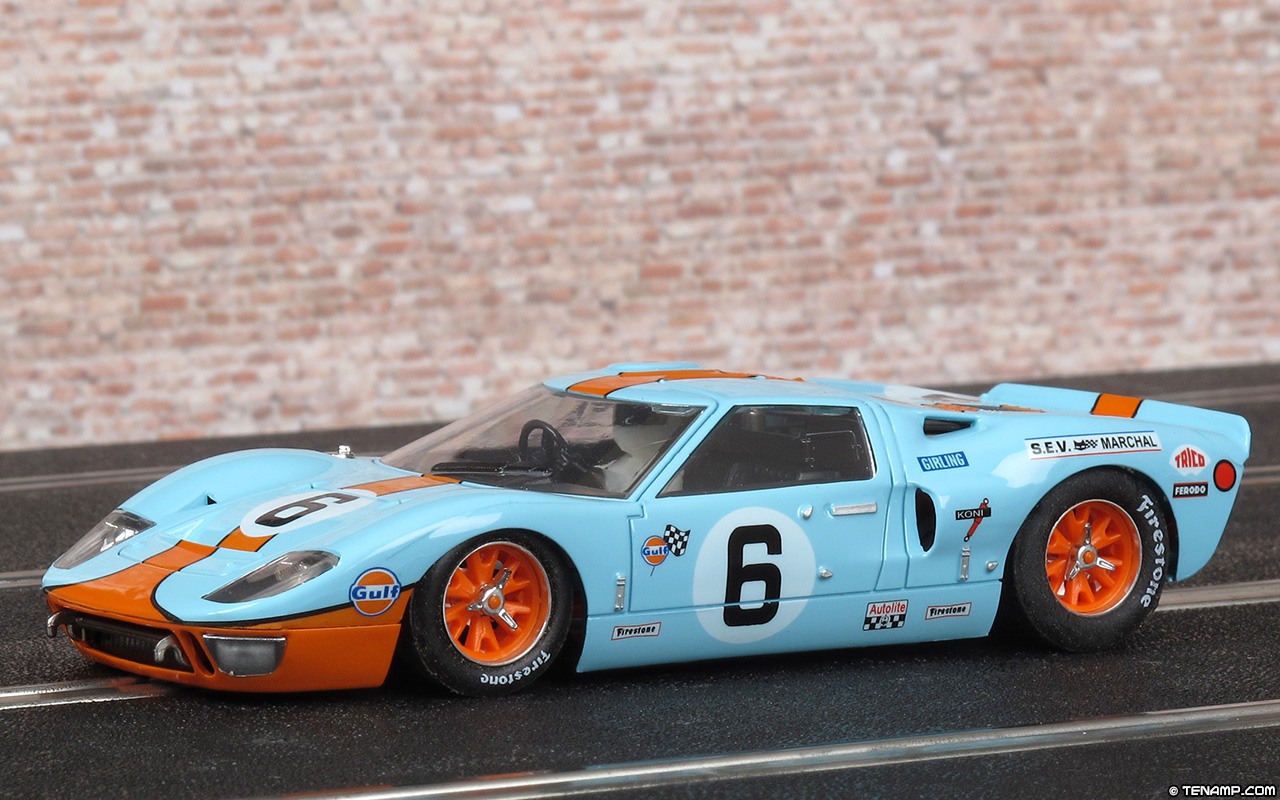 Nsr 1159 Ford Gt40 Mk1 6 Gulf Le Mans 24hrs 1969 Ickx