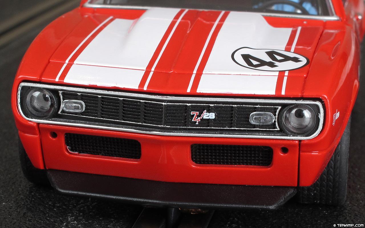 Pioneer P033 1968 Chevrolet Camaro Z 28 44 Red Amp White