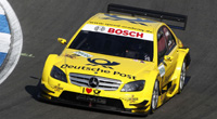 AMG Mercedes C Klasse - #17 Deutsche Post. DTM 2010, Mücke Motorsport, David Coulthard