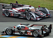 Audi R18 Ultra - No.4 Audi Sport North America: 3rd place, Le Mans 24 Hours 2012. Oliver Jarvis / Mike Rockenfeller / Marco Bonanomi