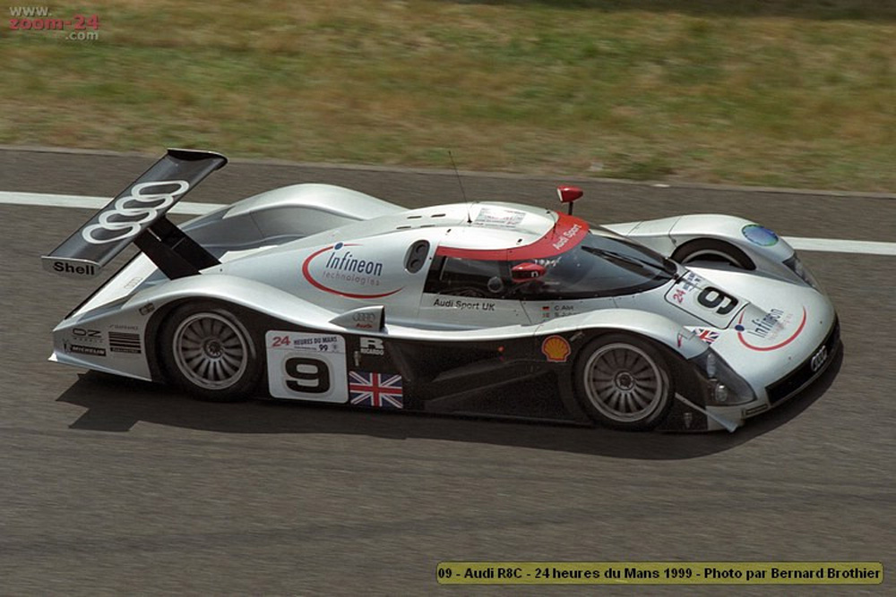 sica12b audi r8c 9 dnf le mans 24 hours 1999. Black Bedroom Furniture Sets. Home Design Ideas