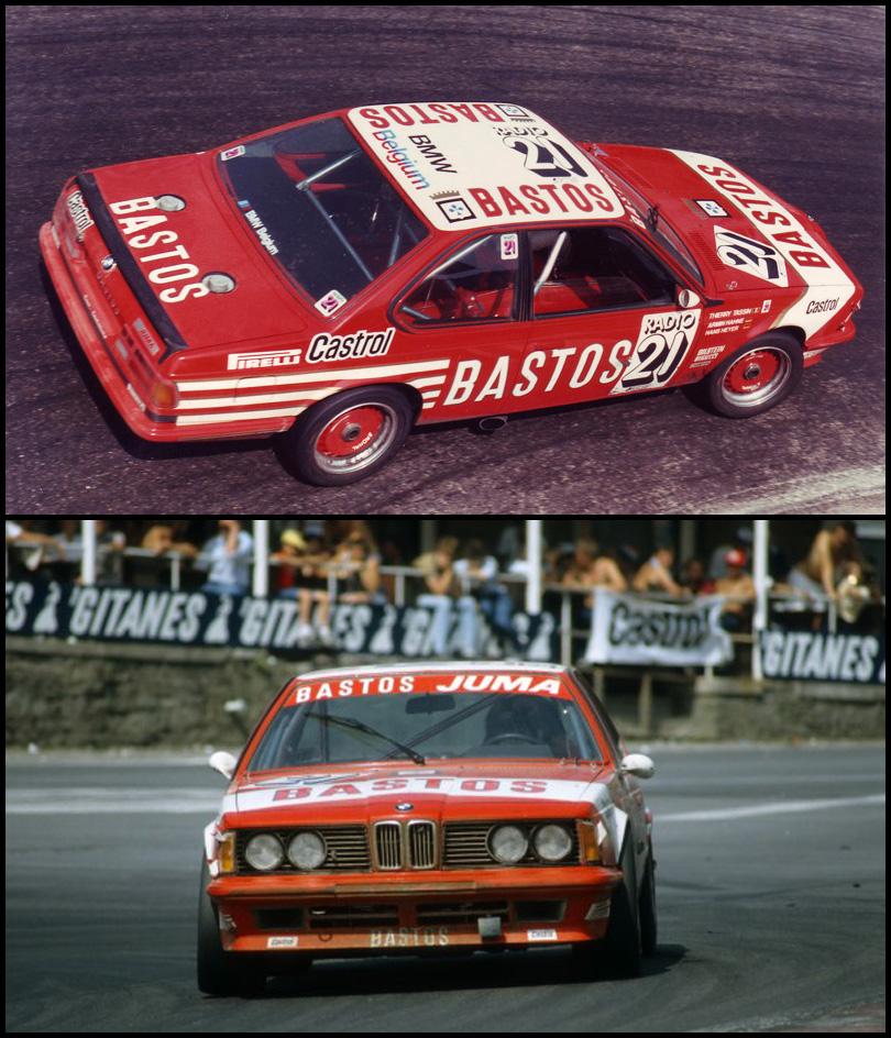 And Winner Is >> Spirit 0801703 BMW 635 CSi - #21 Bastos. Spa 24 Hours 1983