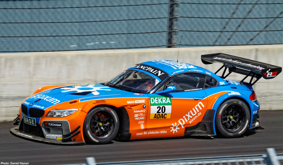 Carrera 20027512 Bmw Z4 Gt3 20 Pixum Team Schubert 2014