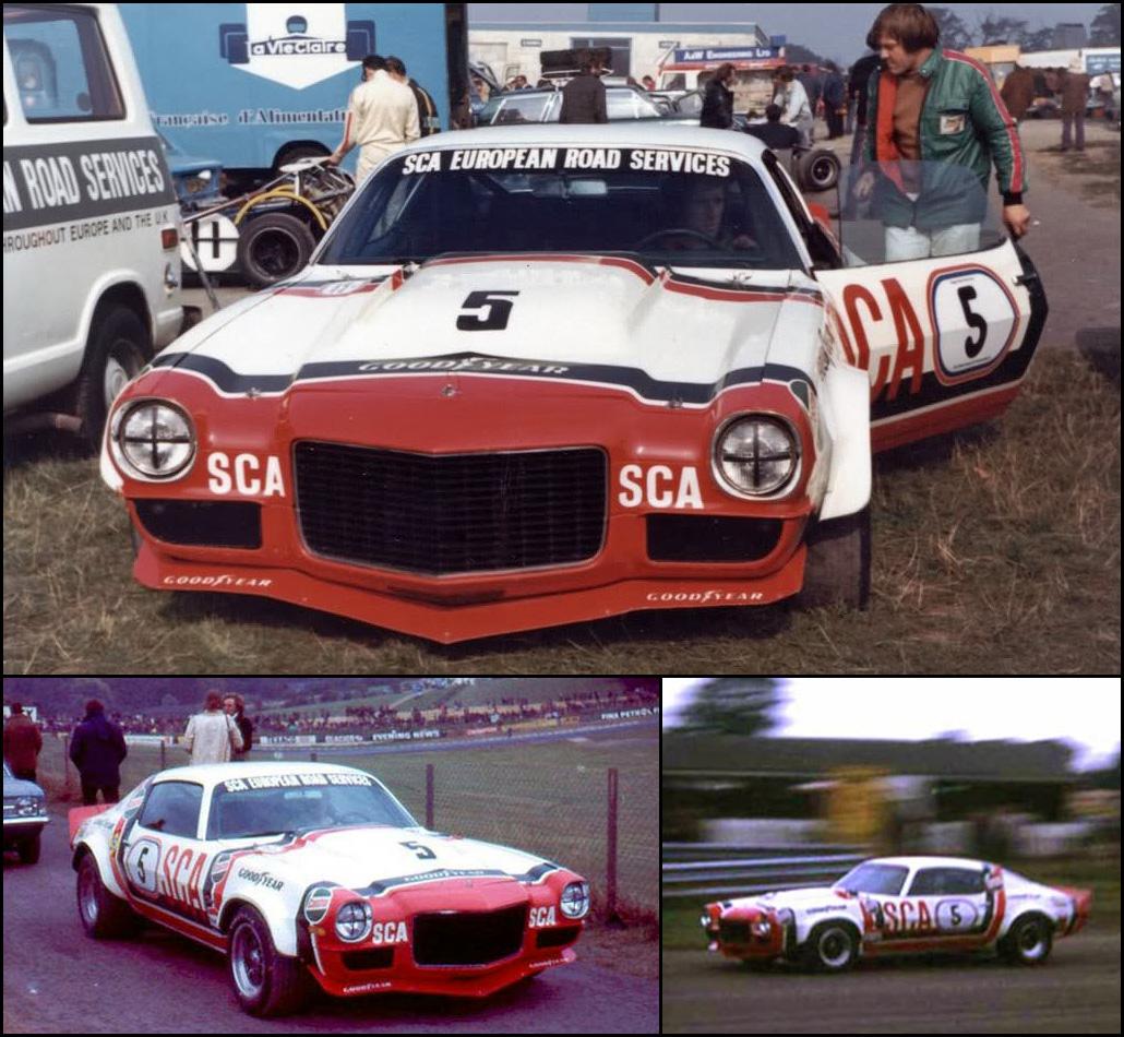 British Saloon Car Championship 1958-72 BEVAN McGOVERN Hillman Imp Touring