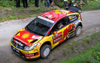 Citroën C4 WRC. #11 Mad-Croc. 2nd place, Rally Japan 2010. Petter Solberg / Chris Patterson