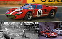 Ford GT40 - #14 Scuderia Filipinetti. DNF, Le Mans 24 Hours 1966. Peter Sutcliffe / Dieter Spoerry