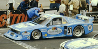 Lancia Beta Montecarlo - No.51, Fruit Of The Loom. 2nd place Division 2, Zolder DRM 1980. Hans Heyer