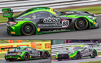 Mercedes-AMG GT3 - #88 Team ABBA with Rollcentre Racing: British GT Championship 2017. Richard Neary / Martin Short