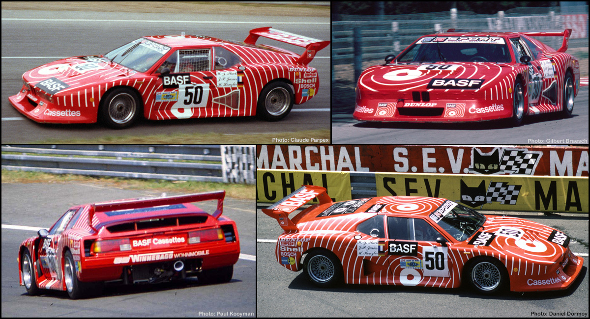 sideways sw31 sauber bmw m1 group 5 50 basf le mans 1981. Black Bedroom Furniture Sets. Home Design Ideas