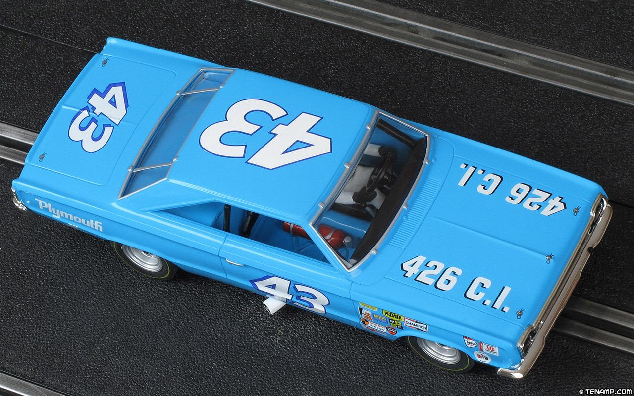 Monogram 85 4845 1967 Plymouth 43 Richard Petty
