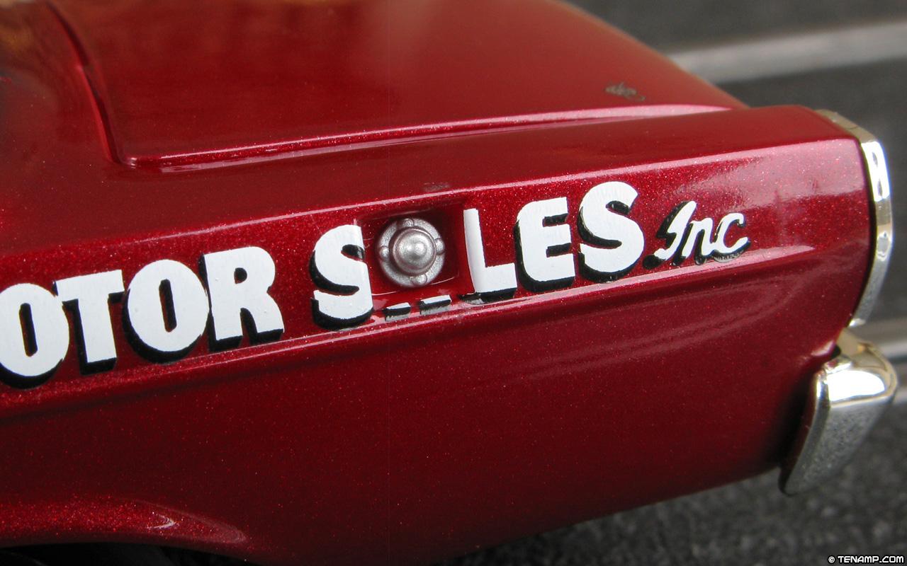 Monogram 85 4894 1965 Ford Galaxie 500 121 Dan Gurney