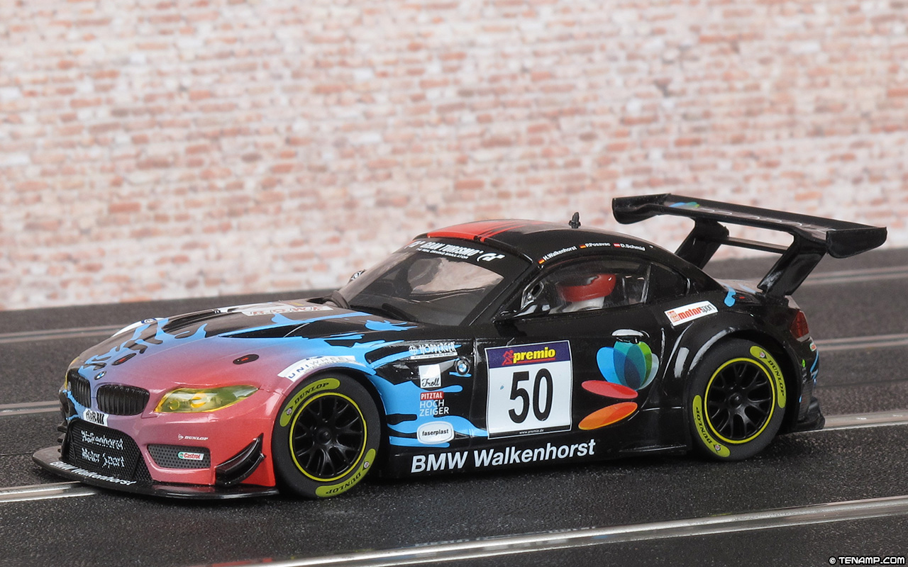 Scalextric C1374 set car No.50 - BMW Z4 GT3. Walkenhorst ...