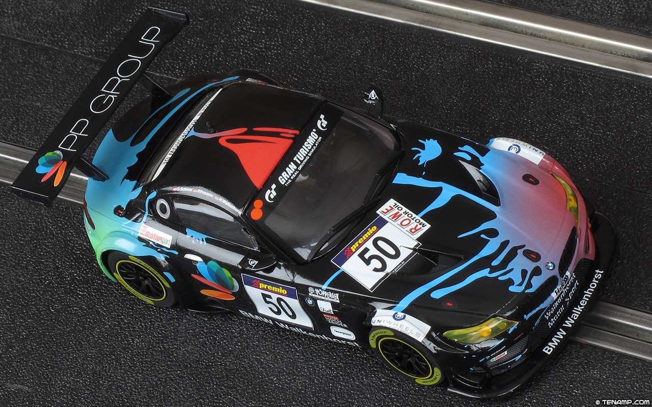 Scalextric C1374 Set Car No 50 Bmw Z4 Gt3 Walkenhorst Motorsport 2016