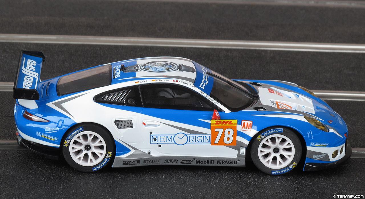 Scalextric C1374 Set Car No 78 Porsche 911 Rsr Memorigin
