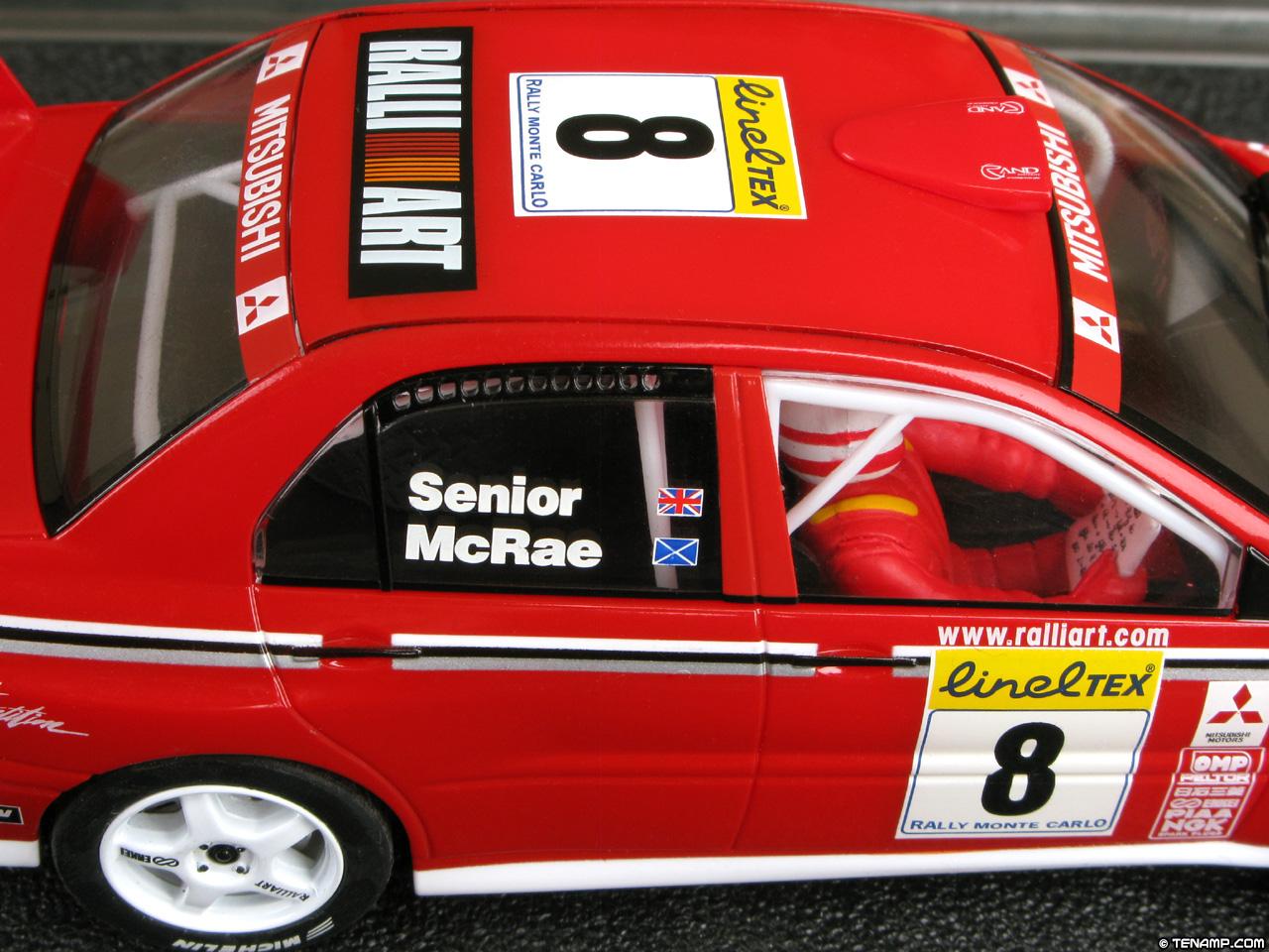 Scalextric C2364 Mitsubishi Lancer WRC - Alistair McRae 2002