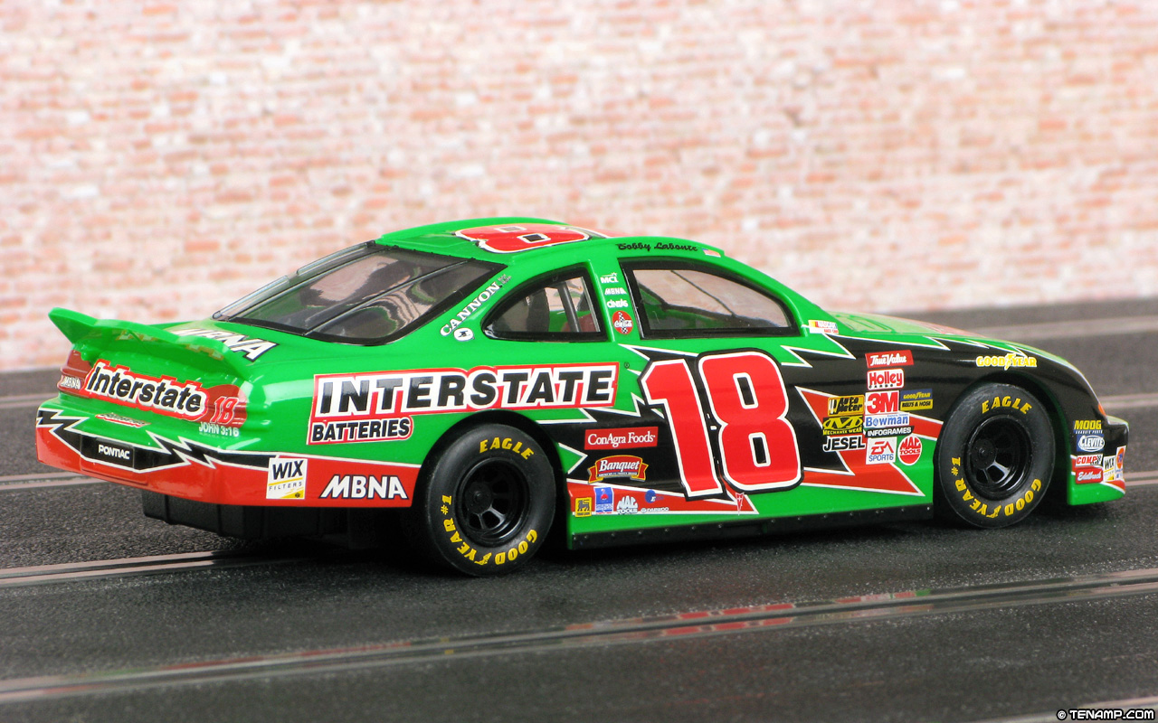 Bobby Labonte 2002 01 Scalextric C2445 Pontiac Grand Prix 18 Interstate Batteries