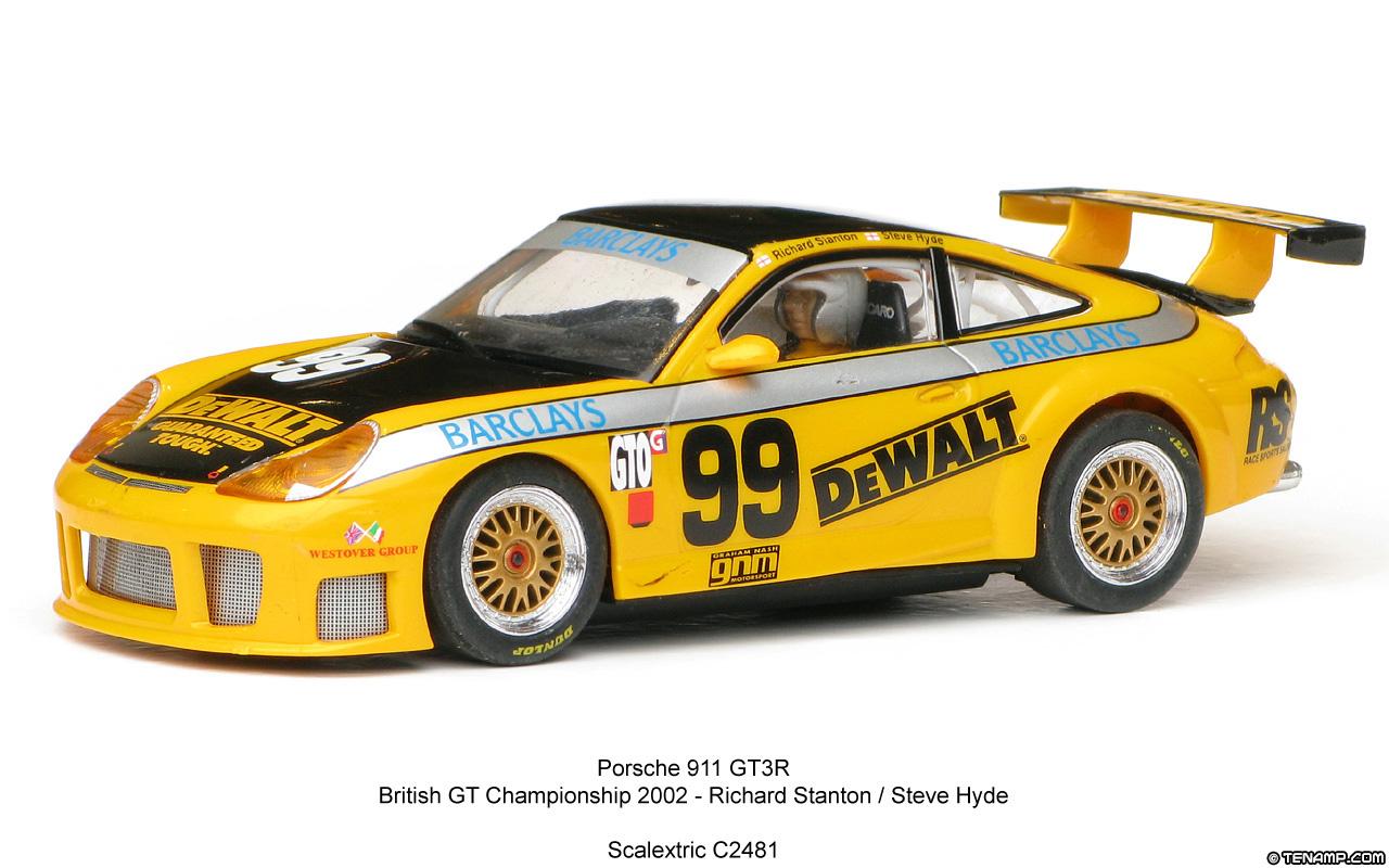 Scalextric C2481 Porsche 911 Gt3 R 99 Dewalt