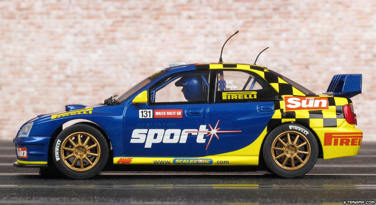 Used Subaru Impreza >> Scalextric C2550 Subaru Impreza WRC - #131 The Sun / Pirelli